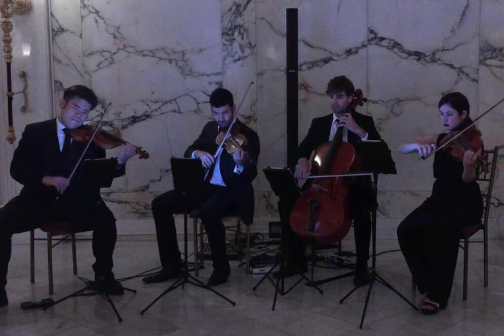 Highline String Quartet Shape Of You